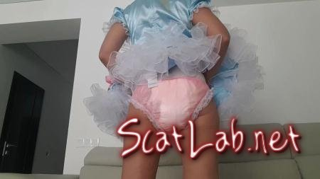 Dirty Toddler BabyGirl (Love to Shit Girls) Panties, Solo [HD 720p] Panty Scat
