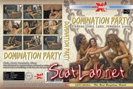 SD-5142 Domination Party (Chris, Carol, Fernanda, Diana) Domination, Brazil [HDRip] MFX Media