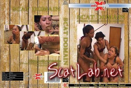SD-6252 Scat Domain (Miriam, Latifa, Lizandra) Vomit, Lesbian, Domination [HDRip] MFX Media