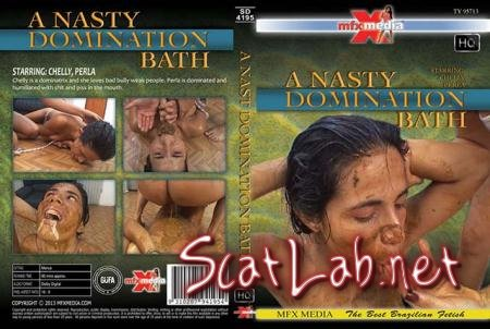 [SD-4195] A Nasty Domination Bath (Chelly, Perl) Scat, Piss, Lesbian [HDRip] MFX Media