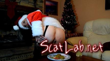 Santa's Special Gift – Parts 1 and 2 (Juicy Julia) New Years Scat [FullHD 1080p] Shit In Pantyhose