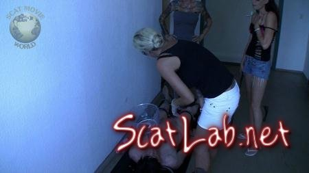 Force feeding (Lady Chantal, Miss Jane, Miss Jordan Star) Spitting, Femdom [HD 720p] Scat-Movie-World