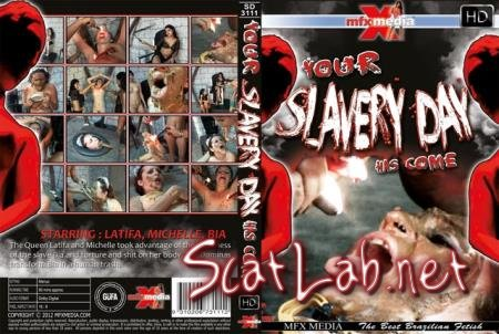 [SD-3111] Your Slavery Day Has Come (Latifa, Mochelle, Bia) Lesbian, Domination [HDRip] MFX Media