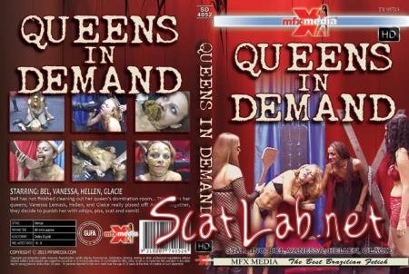 [SD-4052] Queens in Demand (Bel, Vanessa, Hellen, Glacie) Piss, Vomit, Lesbian [HDRip] MFX Media