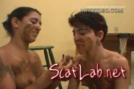 MFX-1416 Drink your Diarrhea, Eat my Scat (Latifa, Nana, Lizandra, Karla) Lesbians, Brazil [DVDRip] MFX Media