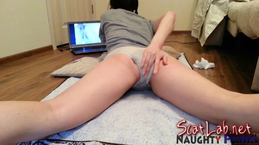 Young solo pussy dildo