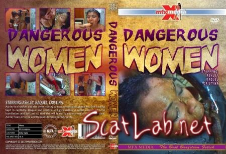 SD-3229 Dangerous Women (Ashley, Raquel, Cristina) Lesbian, Vomit, Domination [HD 720p] MFX Media
