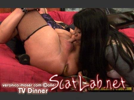 VM33 - TV DINNER (Veronica Moser, 1 TV) Blowjob, Fisting, Shemale [HD 720p] Hightide Scat