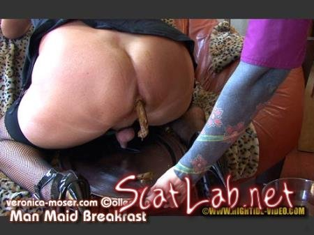 VM61 - MAN MAID BREAKFAST (Veronica Moser, TV Andrea) Humiliation, Milf, Strapon [HD 720p] Hightide