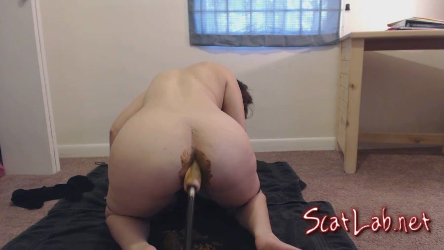 POV doggystyle – Fucked up shit filled Asshole (LindzyPoopgirl) Pooping Girls, Dildo [HD 720p] Scatting