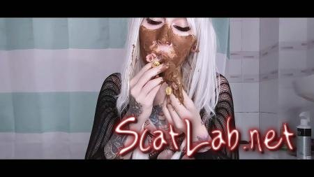 Do not let this bitch play with food (DirtyBetty) Scatology, Solo, Teen [FullHD 1080p] Defecation