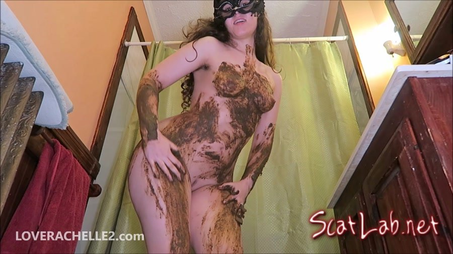 Hot, Literally STEAMY Shit Smear (LoveRachelle2) Scatology, Solo [FullHD 1080p] Defecation