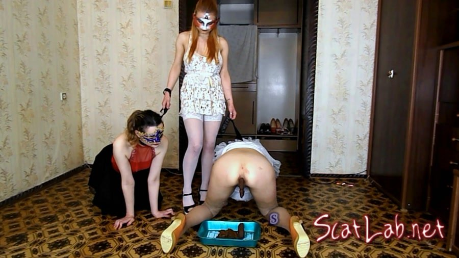 Alice has two slaves on a leash (ModelNatalya94) Lesbian, Amateur [FullHD 1080p] Play Dirty Anal
