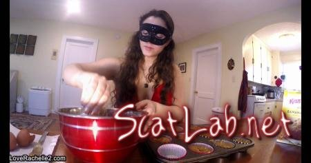 Slave Deserves A Treat! Baking Poop Muffins (LoveRachelle2) Scatology, Solo [UltraHD 4K] Defecation