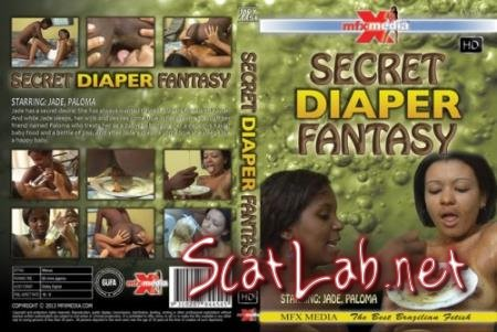 MFX-4454 Secret Diaper Fantasy R78 (Jade, Paloma) Shit Eating, Brazil [HD 720p] MFX