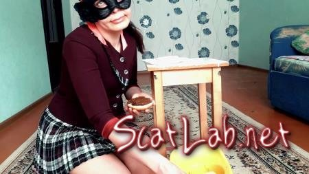 Scat Real Swallow- The Scat Burger By - Exclusive SG (Top Babe Lina) New scat, Solo, Milf [FullHD 1080p] Kaviar Scat