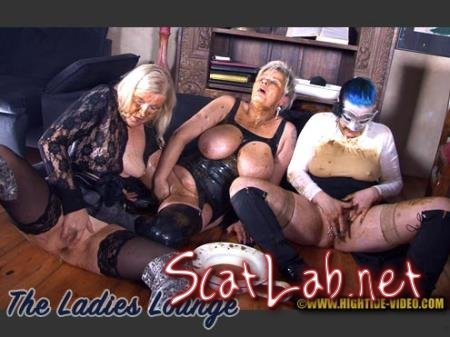 THE LADIES LOUNGE (Luna, Violet, Marlen) New scat, BBW [HD 720p] Hightide-Video