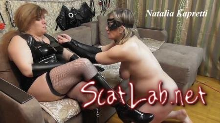 Prepare for shitty lunch shit receiver (Mistress) Domination, Scat [FullHD 1080p] Shit Humiliation