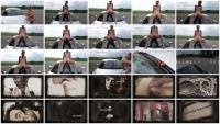 Shit and piss in public on a car (Versauteschnukkis) Poop, Defecation [FullHD 1080p] Outdoor Scat