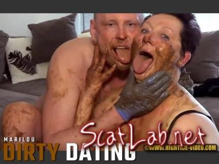 DIRTY DATING (Marilou, 1 male) Milf, Blowjob, Shit [HD 720p] Hightide-Video.com