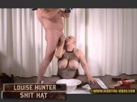 LOUISE HUNTER - SHIT HAT (Louise Hunter, 1 male) Blowjob, Fisting, Eat, BBW [HD 720p] Hightide-Video