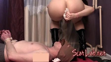 Princess Mia Jenny and their toilet slave (Princess Miya) Femdom Scat, Shitting [FullHD 1080p] Domination Scat