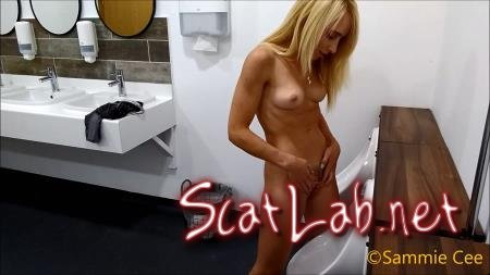 Pee & Poop In Panties (Sammiecee) Blonde, Solo [FullHD 1080p] Poop Videos