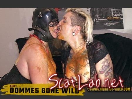 DOMMES GONE WILD (Pia, Kelly) Defecation, Milf, Latex [HD 720p] Hightide-Video.com