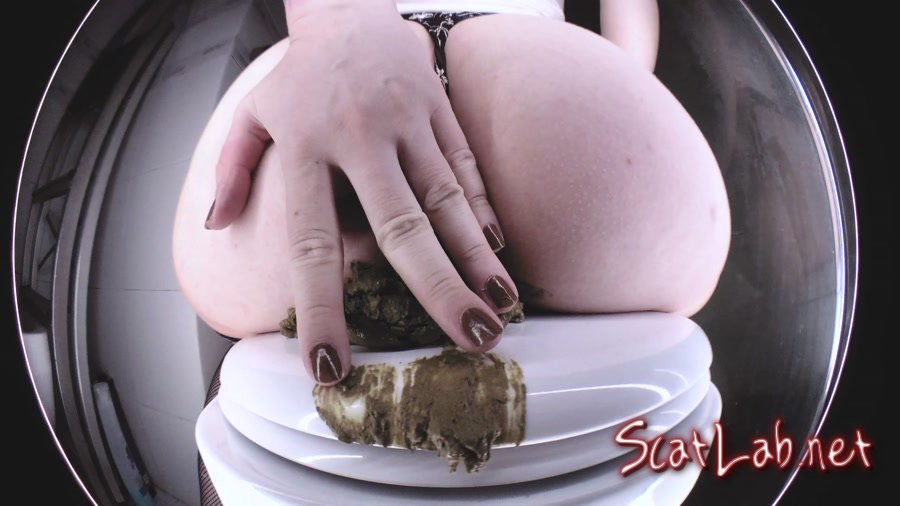 Insane TOP ASS Pooping Volcano (DirtyBetty) Scat, Toilet Slavery [UltraHD 4K] Solo